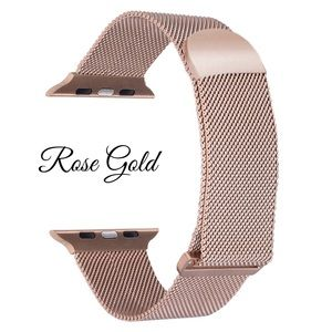 38/40MM Apple Watch Stainless Watchband Rose Gold